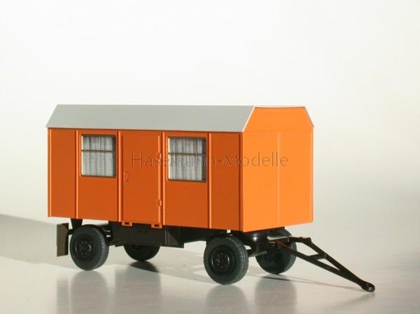 Bauwagen 5m Trapezdach 1:87 / H0 orange