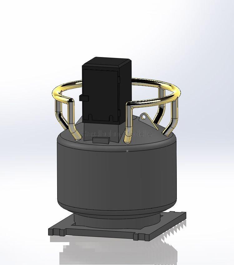 mobile Betankung - 3D-Grafik