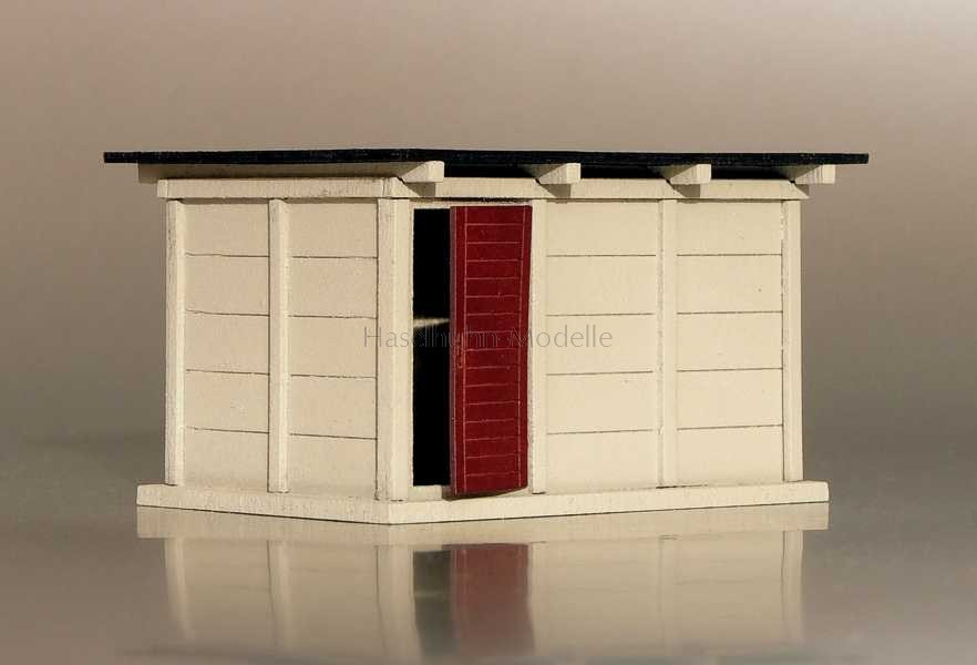Bausatz für ein Schalthaus / Relaisraum 1:120 / TT
