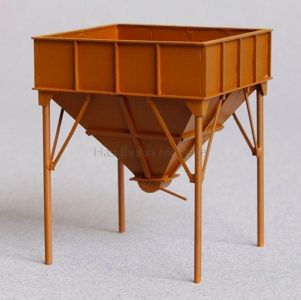 Kohlebunker - Foto zeigt H0-Modell
