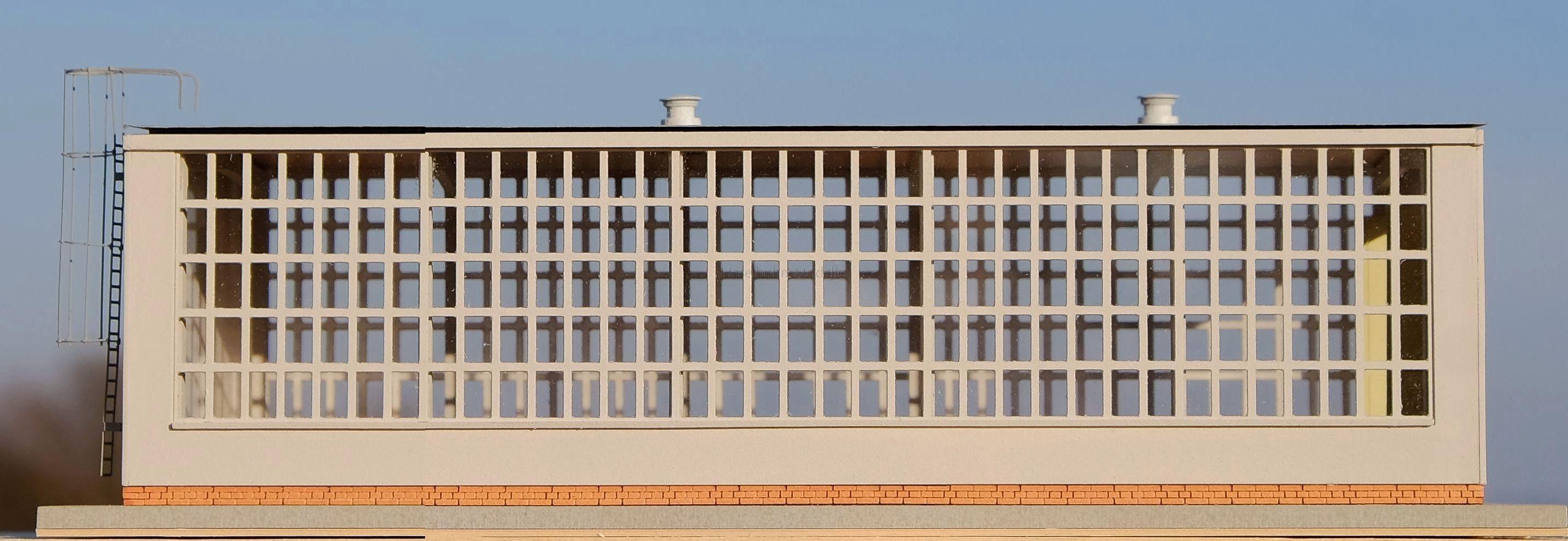 Lokhalle TT in verkürzter Ausführung, nach dem Vorbild im AW Chemnitz