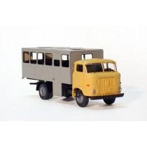H310BS - Bausatz Leutetransport-Koffer H0 - Aufbauvorschlag