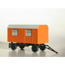 Bauwagen 5m Trapezdach 1:87 / H0 orange