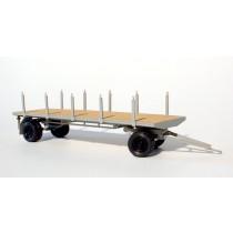 H800BS - Bausatz 8m Rundenwagen H0 fertig aufgebaut