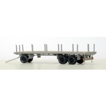 H810BS - Bausatz 10m Rundenwagen H0 fertig aufgebaut
