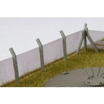 Diorama Sicherheitszaun H0, Ausschnitt