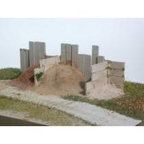 Diorama mit L-Stützen ausgeführt in TT