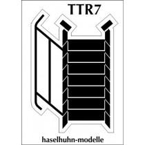 TTR7  - 7stufige Treppe TT