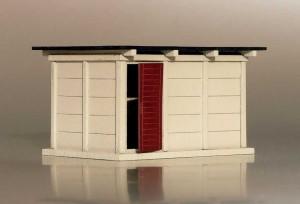 Bausatz für ein Schalthaus / Relaisraum 1:87 / H0