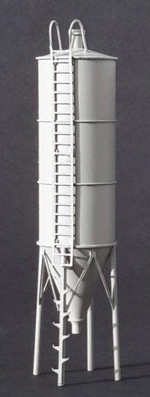 Baustoff- und Futtersilo 1:120 TT